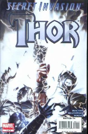 Secret Invasion Thor #1 (2008) Marvel comic book